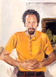 Sylvia Shap Realist Artist: Portrait of 'My Brother Ron'