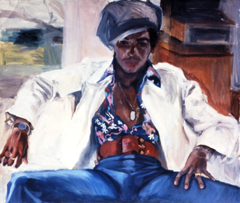 Sylvia Shap Realist Artist: Portrait of 'Billy'
